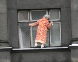 Окна можно мыть так