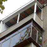 Бесшумная металическая крыша для балкона